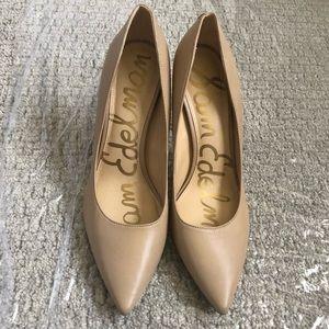 Sam Edelman Tan Pumps Heels 9